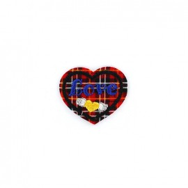 Thermocollant Scottish love - rouge