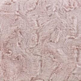 Fur fabric Délice - pink x 10cm