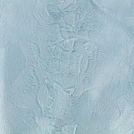 Fourrure Camouflage - bleu clair x 10cm