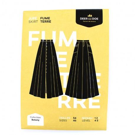 Sewing pattern Deer and Doe - skirt Fumeterre