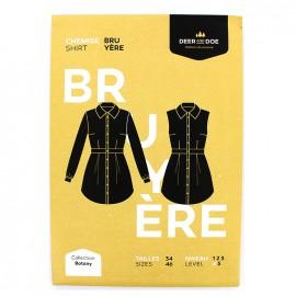 Sewing pattern Deer and Doe - shirt Bruyère