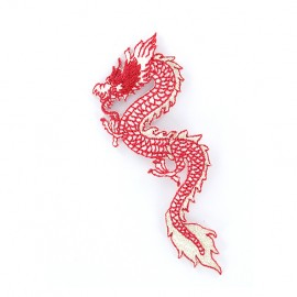 Thermocollant Dragon de Chine - rouge