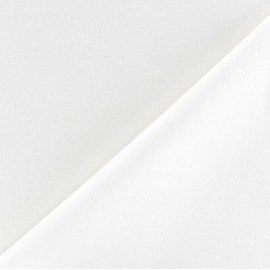 Polycotton lining Fabric Laurence (280cm) - white x 10cm