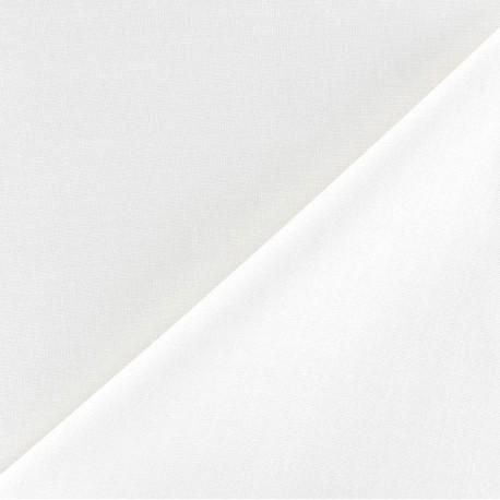 Polycotton lining Fabric Laure (150cm) - white x 10cm