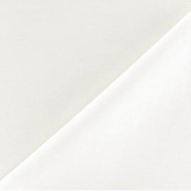 Tissu doublure polycoton Laurence (280cm) - ivoire x 10cm