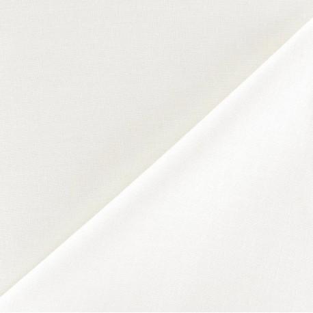 Tissu doublure polycoton Laure (150cm) - ivoire x 10cm