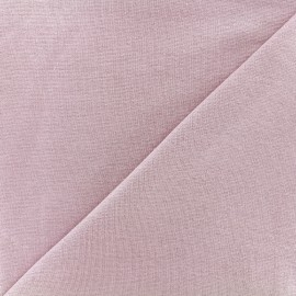 Knitted Jersey 1/1 tubular edging fabric - lilac x 10cm