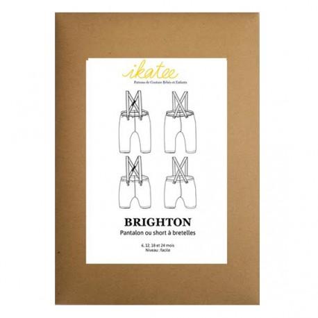 Patron Ikatee Brighton - pantalon ou short à bretelles