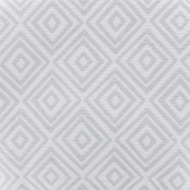 Tissu toile jacquard coton Totem (280cm) - ice x 14cm