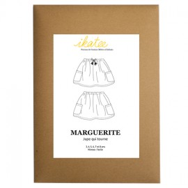Sewing pattern Ikatee Marguerite - skirt : from 3 to 8 years old