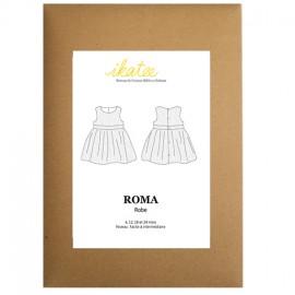 Patron Ikatee Robe ROMA 6 à 24 mois