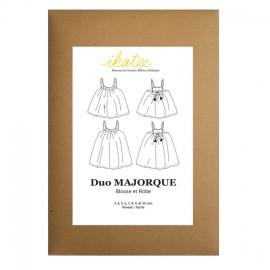 Patron Ikatee DUO robe et blouse Majorque