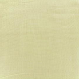 Tissu double gaze de coton Soft Touch - yellow x 10cm