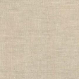 Tissu double gaze de coton Chambray - linen x 10 cm