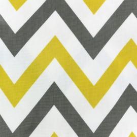 Tissu coton enduit vernis Jazz - saffron x 10cm
