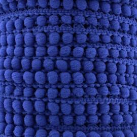 Galon little pompon Color - bleu navy x 1m