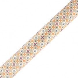 Tissu adhésif Avrey - orange (37cm x 2m)
