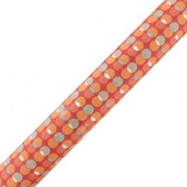 Tissu adhésif Pozzi - orange (37cm x 2m)