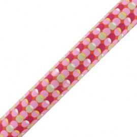 Tissu adhésif Pozzi - rose (37cm x 2m)