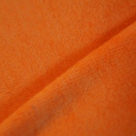 Velours éponge orange