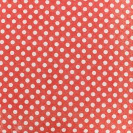 Feutrine prédécoupée Camelot Fabrics Dots - red