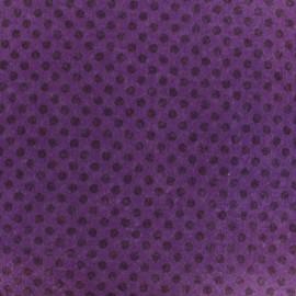 Camelot Fabrics precut felt Dots - lavender