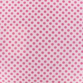 Feutrine prédécoupée Camelot Fabrics Dots - bubblegum