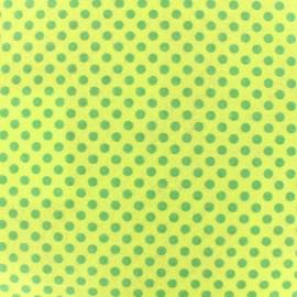 Camelot Fabrics precut felt Dots - chartreuse