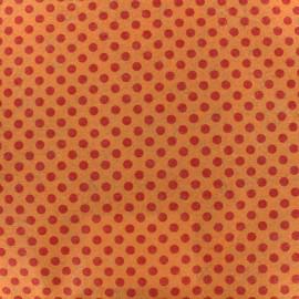 Camelot Fabrics precut felt Dots - orange