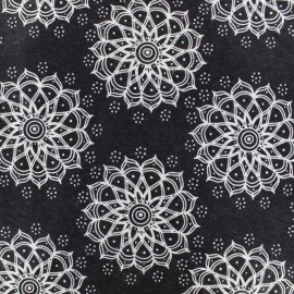 Feuille de feutrine Camelot Fabrics Mandala - black