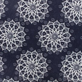 Feuille de feutrine Camelot Fabrics Mandala - navy