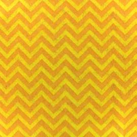 Camelot Fabrics precut felt Chevron - lemon