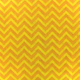 Feuille de feutrine Camelot Fabrics Chevron - lemon