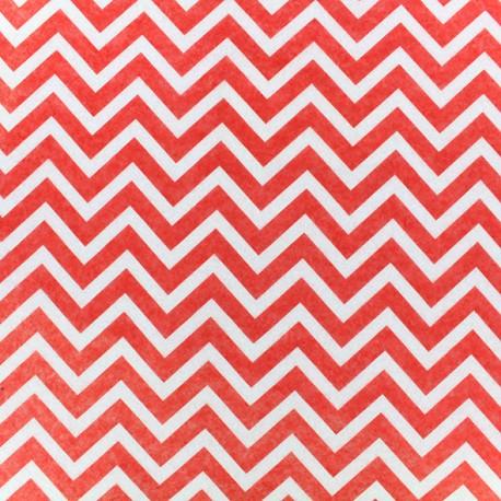 Camelot Fabrics precut felt Chevron - red
