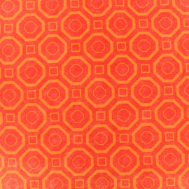 Feuille de feutrine Camelot Fabrics Polygon - orange