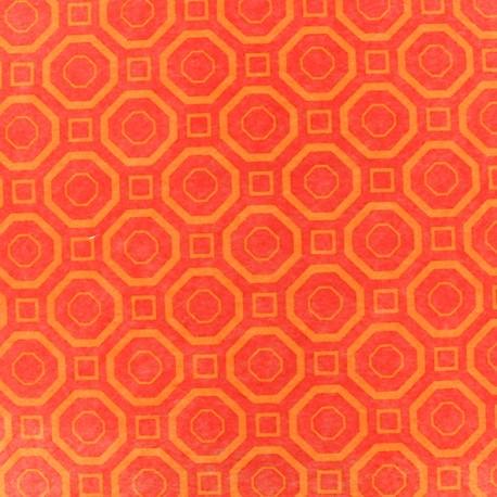 Feuille de feutrine Camelot Fabrics Polygon - orange