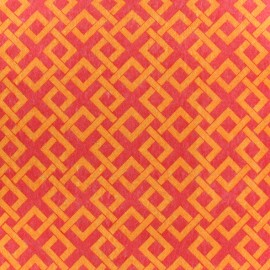 Feuille de feutrine Camelot Fabrics Trellis - orange
