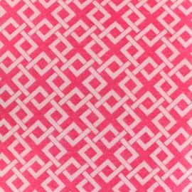 Camelot Fabrics precut felt Trellis - raspberry