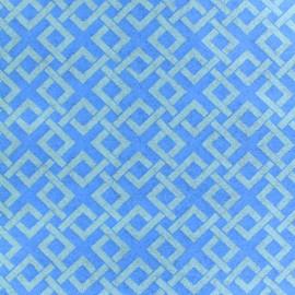 Camelot Fabrics precut felt Trellis - ocean