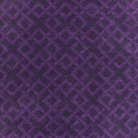 Camelot Fabrics precut felt Trellis - grape