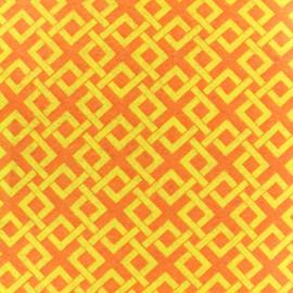 Camelot Fabrics precut felt Trellis - lemon