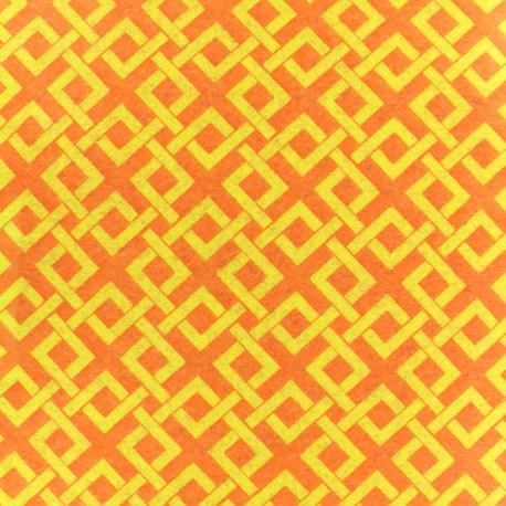 Feuille de feutrine Camelot Fabrics Trellis - lemon