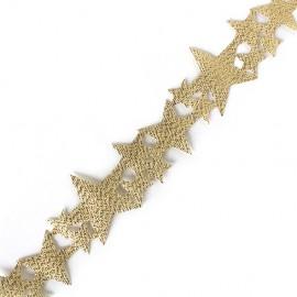 Ruban lamé Constellation - doré x 1m