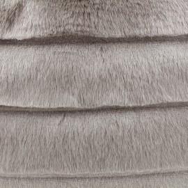Imitation Fur Calin - taupe x 10cm