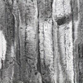 Fourrure Cuddly - gris x 10cm