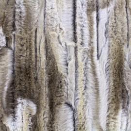 Fourrure Cuddly - beige clair x 10cm