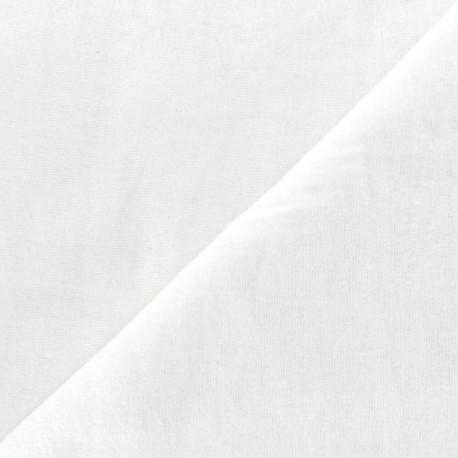 Flannelette fabric Hortense (250cm) - white x10cm