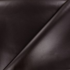 Simili cuir souple nacré - aubergine x 10cm