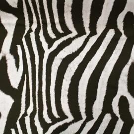 Tissu toile impression digitale Skin (280cm) - zèbre x 10cm