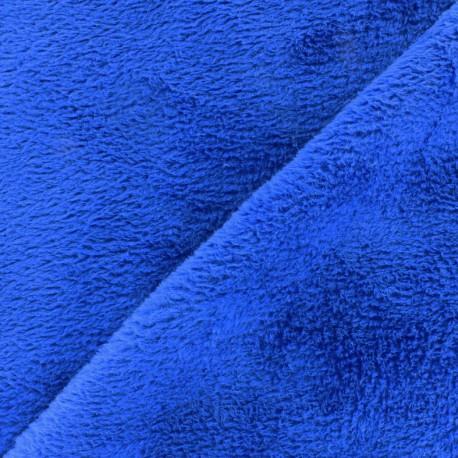 Tissu Piloudou uni - bleu navy x 10cm